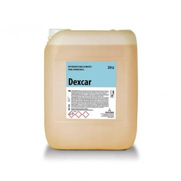 Detergente emulsionante de carrocerias DEXCAR garrafa de 20 Litros.