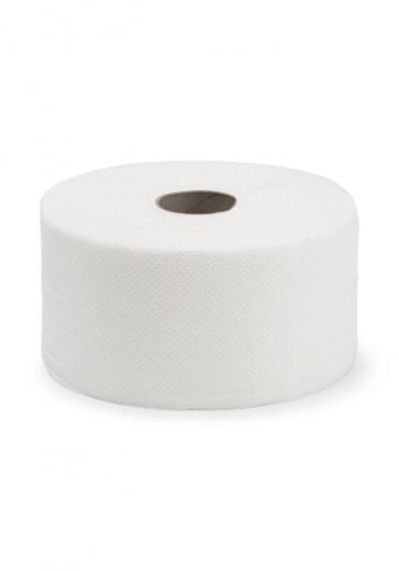 Higiénico Industrial 2 capas, mandril 45 mm , 96 metros x 9 cm Laminado pack de 18 rollos.