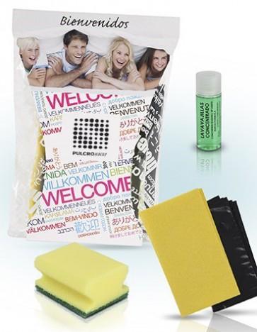 Pack de limpieza alojamiento turisrtico funcional PULCROaway