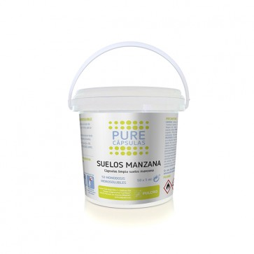 MERCAHIGIENE.com con que fregar el suelo manzana PULCROpure