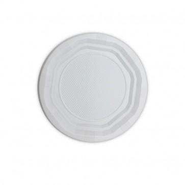 MERCAHIGIENE.com plato octogonal blanco de 170 mm. PULCROaway