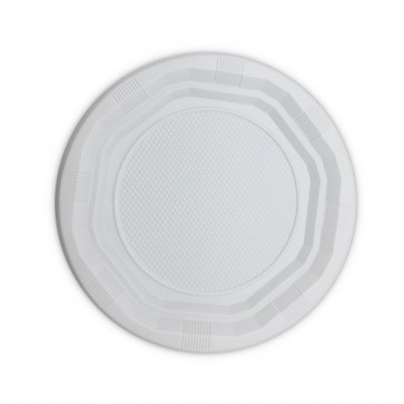 MERCAHIGIENE.com plato rectangular blanco 210 mm. PULCROaway