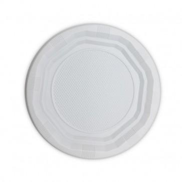 MERCAHIGIENE.com plato rectangular blanco 210 mm. PULCROaway