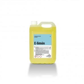 Friegasuelos limón E-LIMÓN  garrafa de 5 Litros.