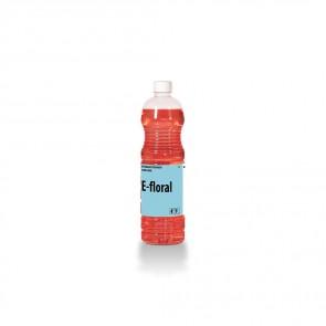 Detergente neutro perfumado floral E-FLORAL 1 litro.
