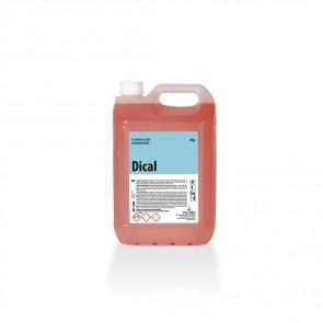 Detergente ácido desincrustante DICAL garrafa de 6 Kg.