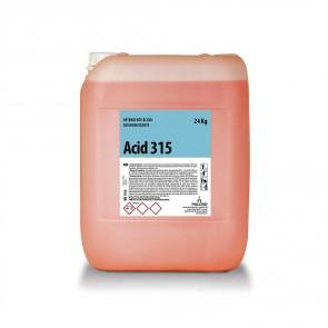 Desincrustante ácido industria alimentaria ACID 315 24 Kg.