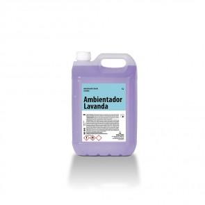 Ambientador líquido lavanda A.LAVANDA garrafa de 5 Litros.