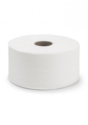 Higiénico Industrial 2 capas, mandril 45 mm, 130 metros x 9 cm Gofrado pack de 18 rollos.