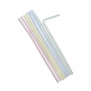 MERCAHIGIENE.com pajita flexible rallada colores PULCROaway