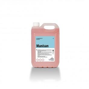 Gel de manos dermoprotector antiséptico MANISAN garrafa de 5 Litros.